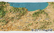 Satellite 3D Map of Djenane El Bey