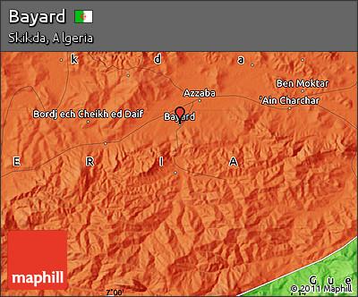 Political Map of Bayard