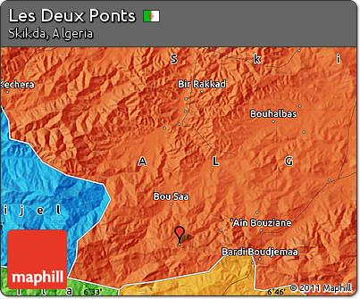 Political Map of Les Deux Ponts