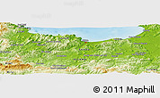 Physical Panoramic Map of Tarkount Sidi Ennouar