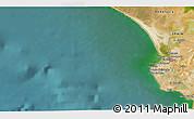 Satellite 3D Map of La Algaida