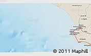 Shaded Relief 3D Map of La Algaida