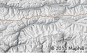 """Physical Map of the area around 36°47'25""""N,73°10'30""""E"""