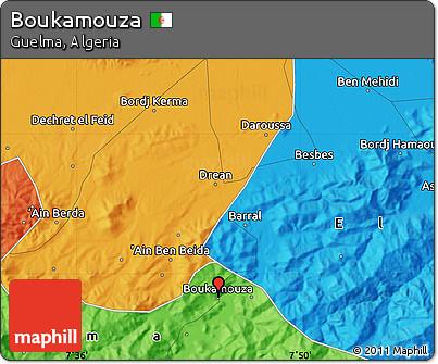 Political Map of Boukamouza