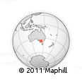 Outline Map of Brim, rectangular outline
