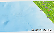 Physical 3D Map of Dargaville