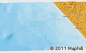 Political 3D Map of Dargaville