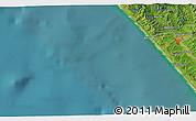 Satellite 3D Map of Dargaville