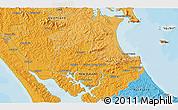 Political 3D Map of Matakohe