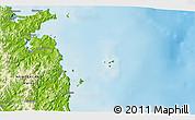Physical 3D Map of Tairua