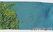 Satellite 3D Map of Whitianga