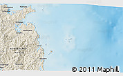 Shaded Relief 3D Map of Whitianga