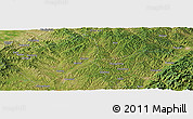 Satellite Panoramic Map of Longyu
