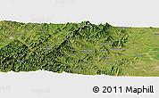 "Satellite Panoramic Map of the area around 37°14'49""N,113°58'29""E"