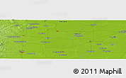 Physical Panoramic Map of Chengdi