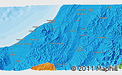 Political 3D Map of Kashiwazaki