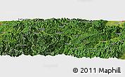 "Satellite Panoramic Map of the area around 37°14'49""N,139°28'29""E"
