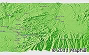 Political 3D Map of Granada