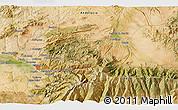Satellite 3D Map of Granada