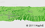 Political Panoramic Map of Granada
