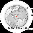 Outline Map of Gonbad-e Vīlā, rectangular outline