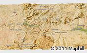 Satellite 3D Map of Lucena