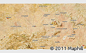 """Satellite 3D Map of the area around 37°14'49""""N,5°1'30""""W"""