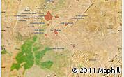 Satellite Map of Sevilla