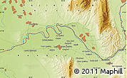 "Physical Map of the area around 37° 14' 49"" N, 68° 55' 30"" E"