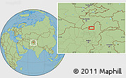 "Savanna Style Location Map of the area around 37°14'49""N,69°46'30""E"