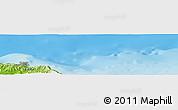 Physical Panoramic Map of El Oualdja