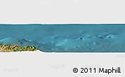 "Satellite Panoramic Map of the area around 37°14'49""N,7°43'29""E"