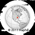 Outline Map of 172 Gentry Rd, rectangular outline