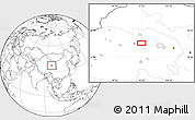 """Blank Location Map of the area around 37°14'49""""N,97°49'29""""E"""