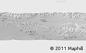 """Physical Panoramic Map of the area around 37°14'49""""N,97°49'29""""E"""