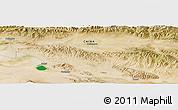 "Satellite Panoramic Map of the area around 37°14'49""N,97°49'29""E"