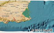 Satellite 3D Map of Cartagena