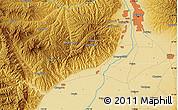 Physical Map of Chengjiagou