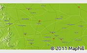 Physical 3D Map of Jicun