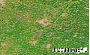 "Satellite Map of the area around 37°42'7""N,115°40'30""E"