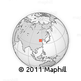 """Outline Map of the Area around 37° 42' 7"""" N, 115° 40' 30"""" E, rectangular outline"""