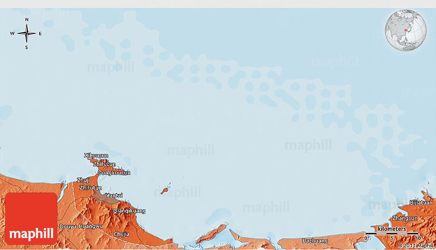 Political D Map Of Zhuji - Zhuji map