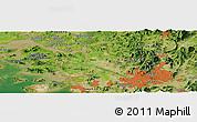 Satellite Panoramic Map of Seoul