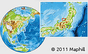 Physical Location Map of Tsubame