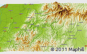 Physical 3D Map of Niitsu