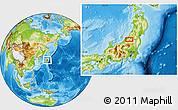 Physical Location Map of Niitsu