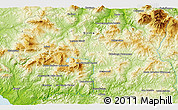 """Physical 3D Map of the area around 37°42'7""""N,13°40'30""""E"""