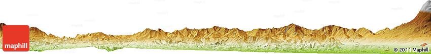 Physical Horizon Map of Paterno