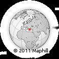 Outline Map of Achladokampos, rectangular outline