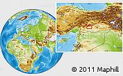 Physical Location Map of Adıyaman